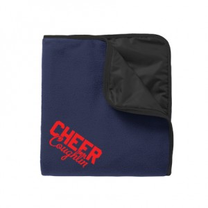 Port Authority® Fleece and Nylon Travel Blanket
