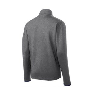 Sport-Tek® Sport-Wick® Stretch Contrast Full-Zip Jacket – Mens