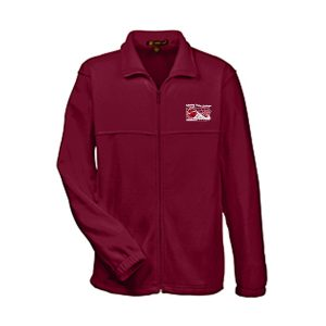 M990Prime Plus Harriton Men's 8 oz. Full-Zip Fleece