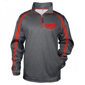 Badger Fusion 1/4 Zip (with Glitter Logo)