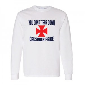 Crusaders Pride Long Sleeve Shirt