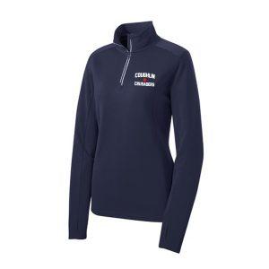 Sport-Tek® Sport-Wick® Textured 1/4-Zip Pullover – Ladies