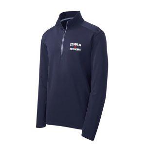 Sport-Tek® Sport-Wick® Textured 1/4-Zip Pullover – Mens