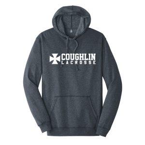 District Made® Mens Lightweight Fleece Hoodie Brand Logo