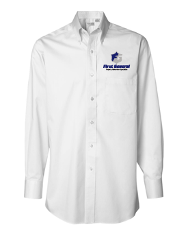 Van Heusen – Long Sleeve Baby Twill Shirt
