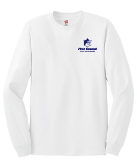 Hanes® – Tagless® 100% Cotton Long Sleeve