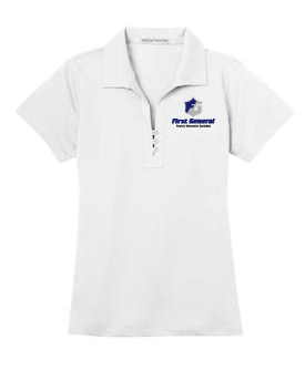 Port Authority® Ladies Pique Polo