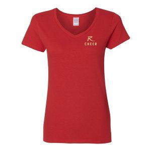 Gildan – Heavy Cotton Women's V-Neck T-Shirt