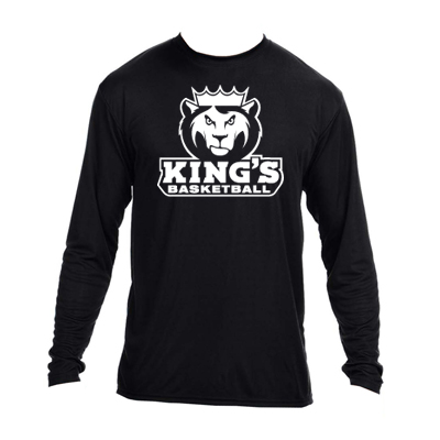 73d890a5 A4 Men's Long-Sleeve Cooling Performance Crew – King's Basketball