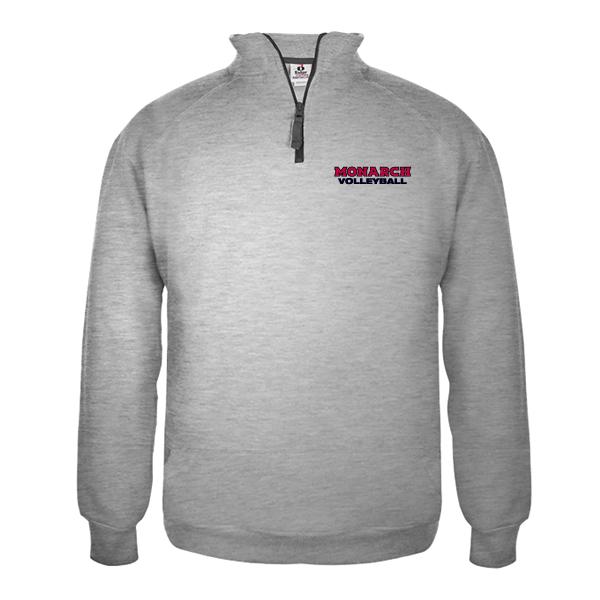 514d540aff5 Badger 1 4 Zip Fleece Pullover – King s Volleyball