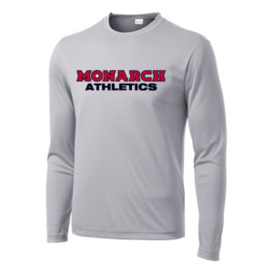 Sport-Tek® Long Sleeve PosiCharge® Competitor™ Tee SILVER