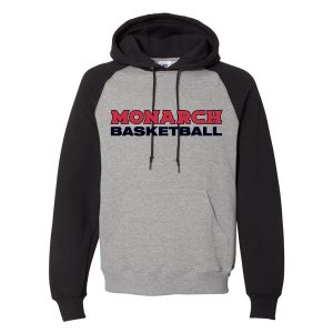 Russell Athletic – Dri Power® Colorblock Raglan Hooded Sweatshirt