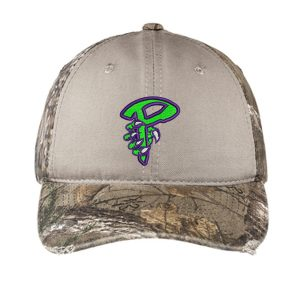 Port Authority® Camo Cap with Contrast Front Panel