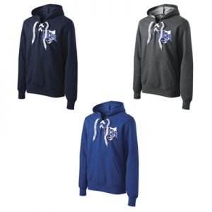 Sport-Tek® Lace Up Pullover Hooded Sweatshirt