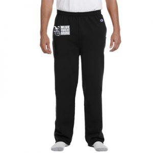 Champion Eco® 9 oz. Open-Bottom Fleece Pant with Pockets
