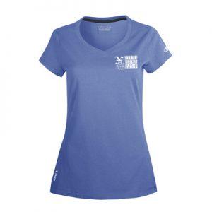 Champion for Team 365 Vapor® Ladies' Cotton Short-Sleeve V-Neck